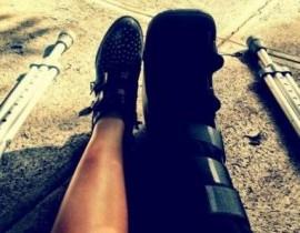 Perna paralisada